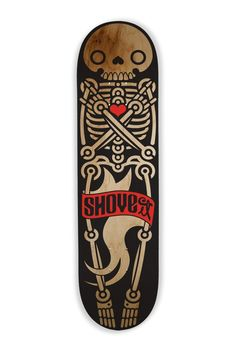 Shove It Skateboard Deck Art by Matacho Descorp Skateboard Deck Art, Skateboard Design, Franz Marc, Snowboard Design, Cool Skateboards, Skate Art, Skate Decks, Posca, Longboarding