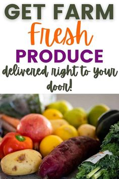 A complete review of Farmbox Direct so you can decide whether this produce delivery service is worth it. I'll share with you my personal experience to help you decide! Fun Cooking, Cooking Tips, Healthy Groceries, Grass Fed Butter, Organic Fruit, Healthy Lifestyle Tips, Roasted Sweet Potatoes, Afternoon Snacks, Fruits And Veggies