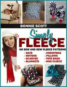 HURRY, grab it before it's GONE!!     FREE e-Book: Simply Fleece {Easy No-Sew and Sew Patterns!} #fleece