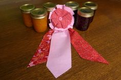 Make it Yourself: State Fair Style Winning Ribbons