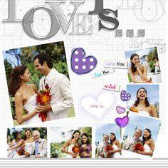 Idea for my Wedding Scrapbook - found by: http://weddingscrapbookideas.net/ #seemoreweddingideas