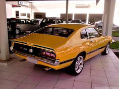 Ford Maverick GT | Igor Herculano | Flickr Ford Maverick, Ford Galaxie, Carros Retro, Mercury Cars, Yellow Car, Power Cars, Unique Cars, Car Ford, American Muscle Cars