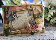 A Touch of Grace » Graphic 45 – Vintage Pink Fairy from Once Upon A Springtime