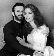 Ringo Starr and Barbara Bach on their 1981 wedding day