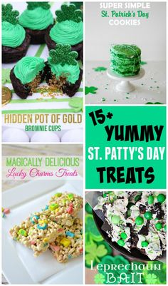 15+ yummy St. Patric