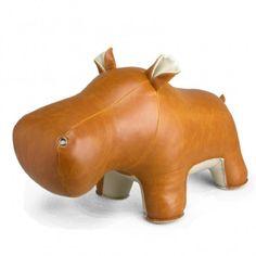 Zuny dieren - Nijlpaard deurstopper (2kg)