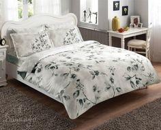 Купить постельное белье MAGNOLIA серое 1,5-сп от производителя Tac (Турция)