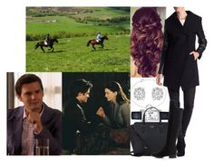 """""""Going riding with Louis as their first date"""" by margaretofwales ❤ liked on Polyvore featuring Retrò, Dawn Levy, Effy Jewelry, Cartier, Kate Spade and Dune"""