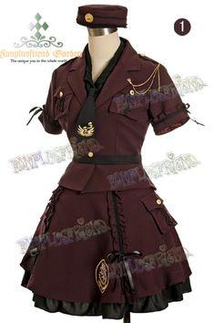 Love this design for a scout uniform.
