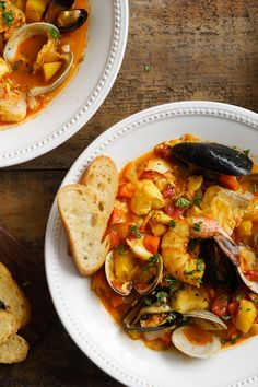 NYT Cooking: You can make any soup with water instead of stock, but the soups that drive you wild usually have a beautiful stock as their base. This is doubly true of bouillabaisse, which should start with a stock so delicious that you can barely imagine improving on it. There are a few ways to do this: Grab fish bones when you see them, and make the stock incrementally. An...