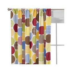 Panel curtains: colorful dots!