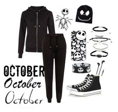 """I'm back"" by jaystyles05 ❤ liked on Polyvore featuring Converse and Merkury Innovations"