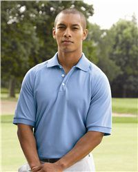 The Adidas - Golf ClimaLite Tour Short Sleeve Sport Shirt - A108, with a delicate cutting design, will surely be well-liked among not only golf players but every man who pursuits fashion while practicality. Our shirt features a hydrophilic finish on inner face, wicking your sweat away from your body to provide a wonderful physical condition for your exercise. At the center back yoke, there are three contrast-color stripes, decorating your shirt in a secret way.