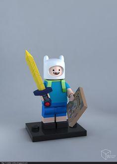 LEGO Finn minifig on Behance