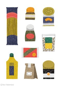 The Waitrose Way by Ryo Takemasa, via Behance
