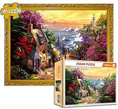1000 Piece Jigsaw Puzzle for Adults Fun Indoor Activity Educational Intellectual Fun Family Game Puzzle for Adults Kids - Town Adult Fun, Adult Games, Games For Kids, Intellectual Games, Family Games, Family Family, Fun Indoor Activities, Puzzle Games, 1000 Piece Jigsaw Puzzles