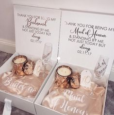 Will You Be My Bridesmaid Proposal Box Will You Be My Bridesmaid Gift Box Will You Be My Bridesmaid Box Maid of Honor Proposal Wedding Day Bridesmaid Gifts, Bridesmaid Gift Boxes, Bridesmaid Proposal Gifts, Gifts For Wedding Party, Be My Bridesmaid, Wedding Favors, Party Gifts, Wedding Ideas, Bride Box Ideas