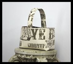 Giddy Up Country Cowboy Easter Basket by AllDeckedOutBoutique, $20.00