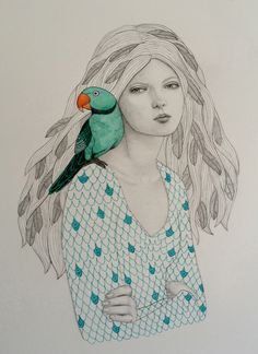 Ava by Sofia Bonati, via Behance