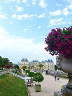 Jardines de Luxemburgo, Place Edmond Rostand, Paris, Île-de-France_ France