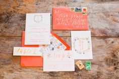 Photography: Michelle March - michelle-march.com  Read More: http://www.stylemepretty.com/2014/09/24/citrus-inspired-southern-wedding-shoot/