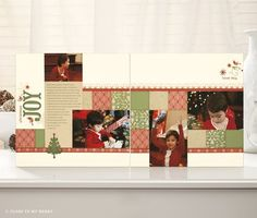 Close To My Heart - Scrapbooking and Stamping: Workshops on the Go™ Christmas Scrapbook Layouts, Scrapbook Page Layouts, Scrapbook Cards, Scrapbooking Ideas, Christmas Layout, Christmas Ideas, Reflection Paper, Diy And Crafts, Paper Crafts