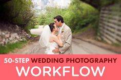 A 50 step wedding photograph workflow, from the initial inquiry to the final followup. Details on the entire process of shooting a wedding, and delivering awesome customer service!
