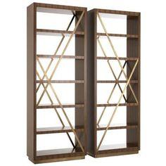 Polygon Bookcase