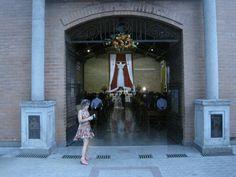 la entrada