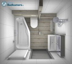 If you have tiny bathroom design and don't know how to organize it well, don't despair. For today, I rounded the smallest bathrooms that you will ever see. Complete Bathrooms, Tiny Bathrooms, Steam Showers Bathroom, Small Bathroom Layout, Small Bathroom Renovations, Ideas Baños, Decor Ideas, Restroom Design, Bathroom Inspiration