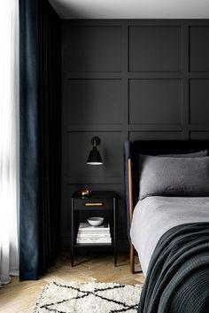 Bedroom Wall, Diy Bedroom Decor, Bedroom Sets, Bedroom Furniture, Home Interior, Interior Design, Peaceful Bedroom, Beautiful Bedrooms, Cheap Home Decor