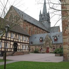 Kloster Haina    The former Cistercian monastery in Haina (Sauerland, Germany) is Hesse's most important Gothic building. The Monastery Church, built between 1215 and 1330, is the earliest Gothic building in Germany.