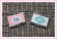 Custom Business Card Case Personalized Business by ChicMonogram, $19.00