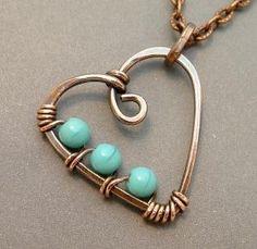 wire heart by shauna