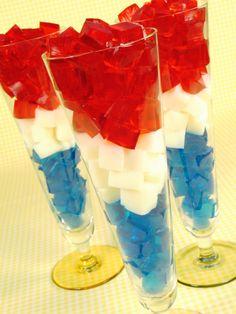 4th of July Jello Treats!