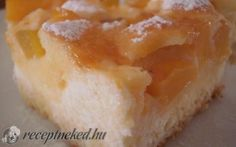 Túrós-sárgabarackos álom recept fotóval
