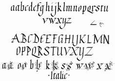 ... Alphabet Photos Learn Calligraphy | Alphabets & Fonts | Pinterest