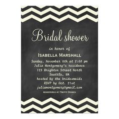 ShoppingYellow Chevrons on Chalkboard Bridal Shower Invitetoday price drop and special promotion. Get The best buy
