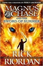 Rick Riordan is back in the top 10! Read Magnus Chase and the sword of Summer today!