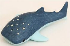 free plush fish sewing pattern | blue fish whale shark eraser by Iwako - Animal Eraser - Eraser ...