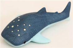 free plush fish sewing pattern | blue fish whale shark eraser by Iwako - Animal Eraser - Eraser ...