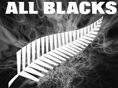 All Blacks rugby All Blacks Rugby Team, Nz All Blacks, Rugby Rules, All Black Tattoos, Super Rugby, Hard Men, New Zealand, Sport, Logos