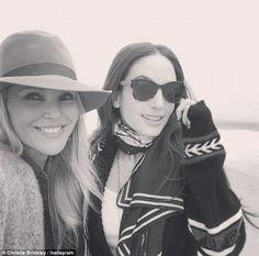 Christie Brinkley 60 with daughter Alexa Joel, 28