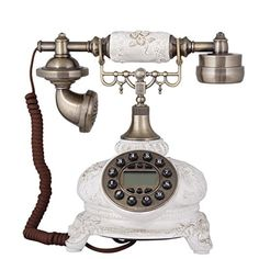 HYY@ Rural telephone and lovely home phone landline landline caller ID phone - Brought to you by Avarsha.com