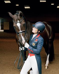 The Duo That Dominates Dressage How an outsider athlete and her once unruly…