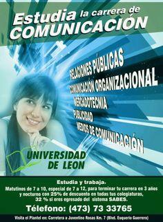 Carrera de Comunicación Universidad de León