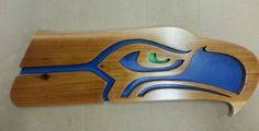 Seahawks Wood Plaque  Seattle Seahawks Sign  by radnbadcollars
