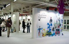 Photograph borrowed here: http://www.marianario.com/119524/1255408/exhibitions/bologna-illustrators