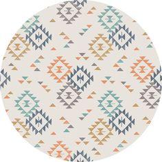 Lewis & Irene, To Catch A Dream, Triangle Print Cream