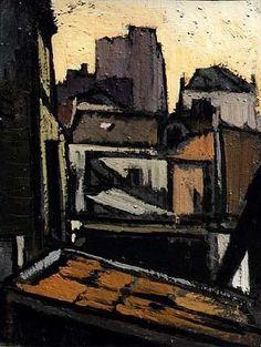 Toits de Paris<br>1919 - 1924 - Paris - Frédéric FIEBIG